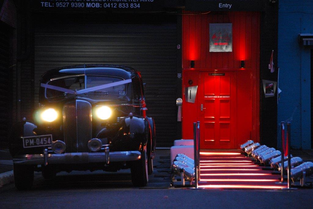 Groovy Corporate Event Themes  Venue Melbourne - Red Scooter Unique Events Venue