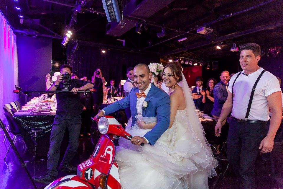 How to Find the Right Wedding Videographer  Venue Melbourne - Red Scooter Unique Events Venue