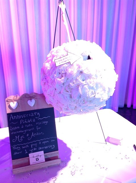 Wedding-Pinata Real Weddings: Wedding Reception for Melissa & Anton  %Post Title Melbourne Events Venue Hire