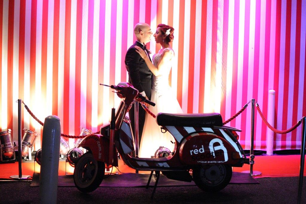 destination-wedding-venue-red-scooter Planning the Ideal Destination Wedding  %Post Title Melbourne Events Venue Hire