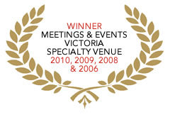 Awards to Red Scooter - Wedding Venues in Melbourne