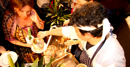Food Stations – add something extra to your event!  Venue Melbourne - Red Scooter Unique Events Venue