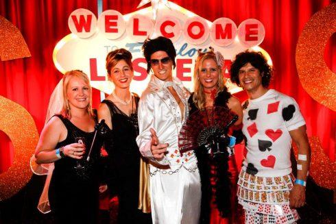 Venue Hire in Melbourne - Las Vegas Theme