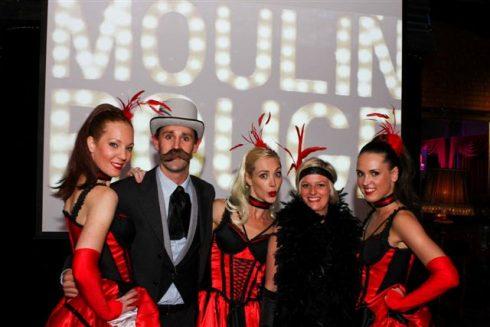 Venue Hire in Melbourne - Moulin Rouge Theme