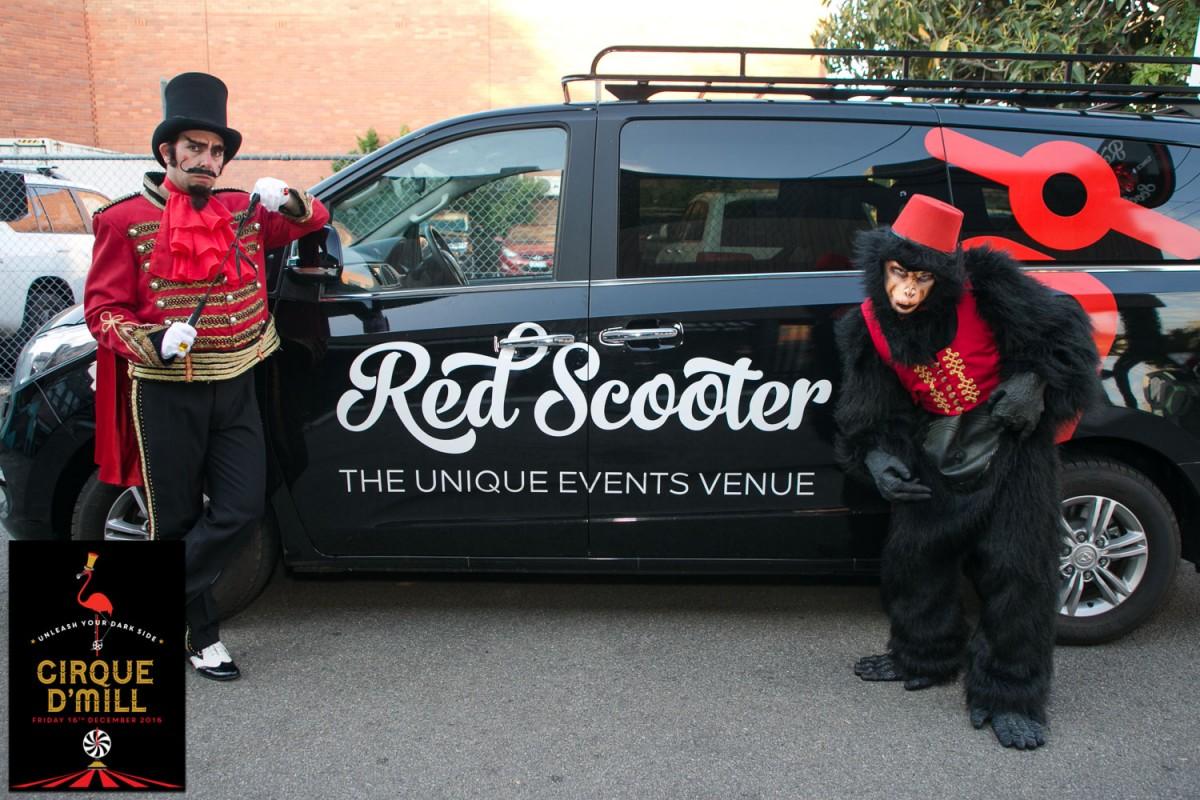 Awesome Corporate Event Ideas  Venue Melbourne - Red Scooter Unique Events Venue