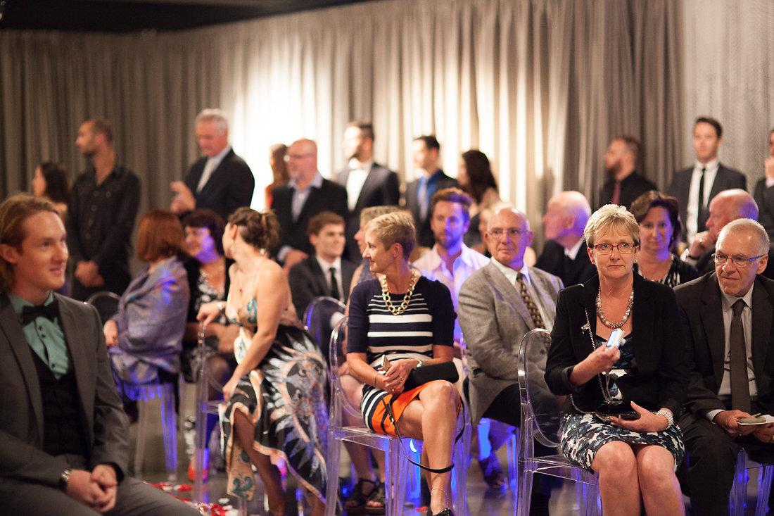 Indoor Wedding Ceremony  Venue Melbourne - Red Scooter Unique Events Venue