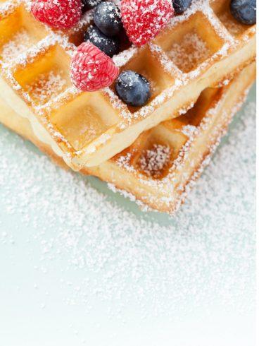 Food Cart Menu For Events - Waffles