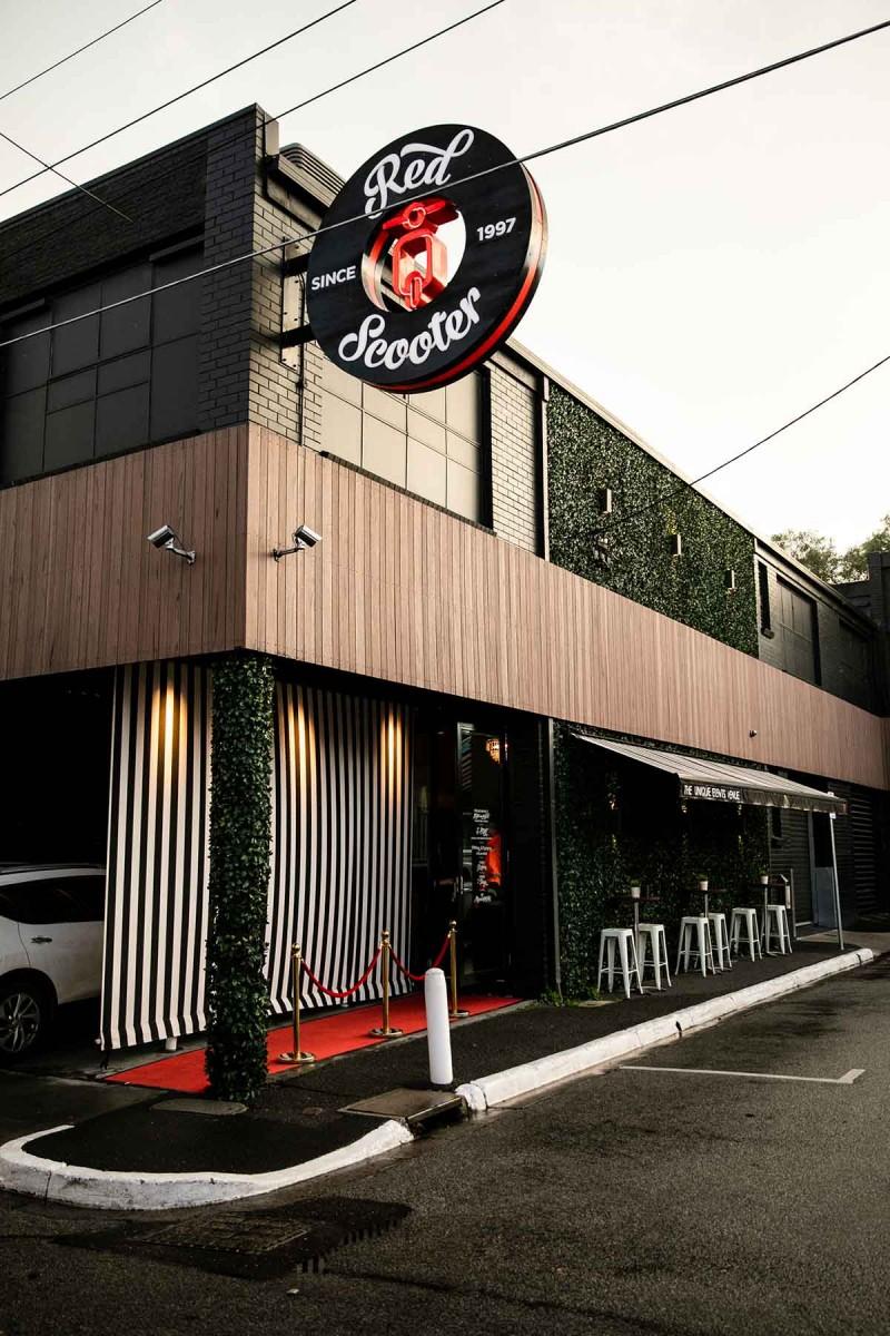 Home  Venue Melbourne - Red Scooter Unique Events Venue