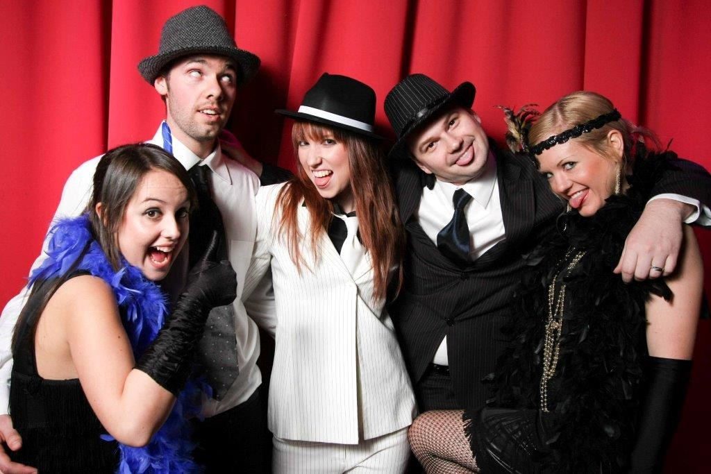 Gangsters & Flappers at your next Corporate Function  Venue Melbourne - Red Scooter Unique Events Venue