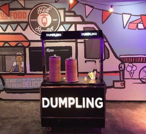Dumpling Food Cart