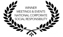 Award Winning Venue - Sustainability