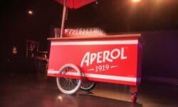 Aperol Bar Cart