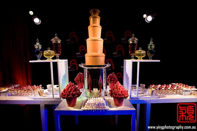 Chocolate Fountain and Candy Spot