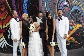 Graffiti Wedding Photos