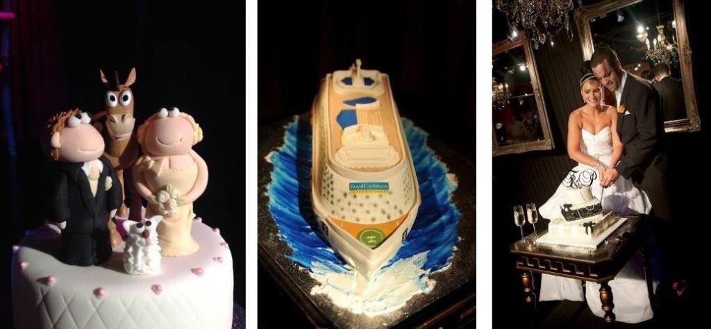 Melbourne's Best Wedding Cakes  Venue Melbourne - Red Scooter Unique Events Venue