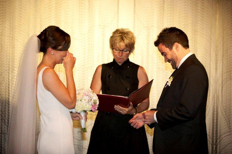 Real Weddings: Wedding Ceremony & Reception