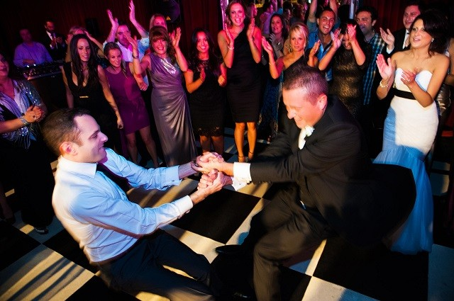 Where to locate the dance floor at your Wedding Reception