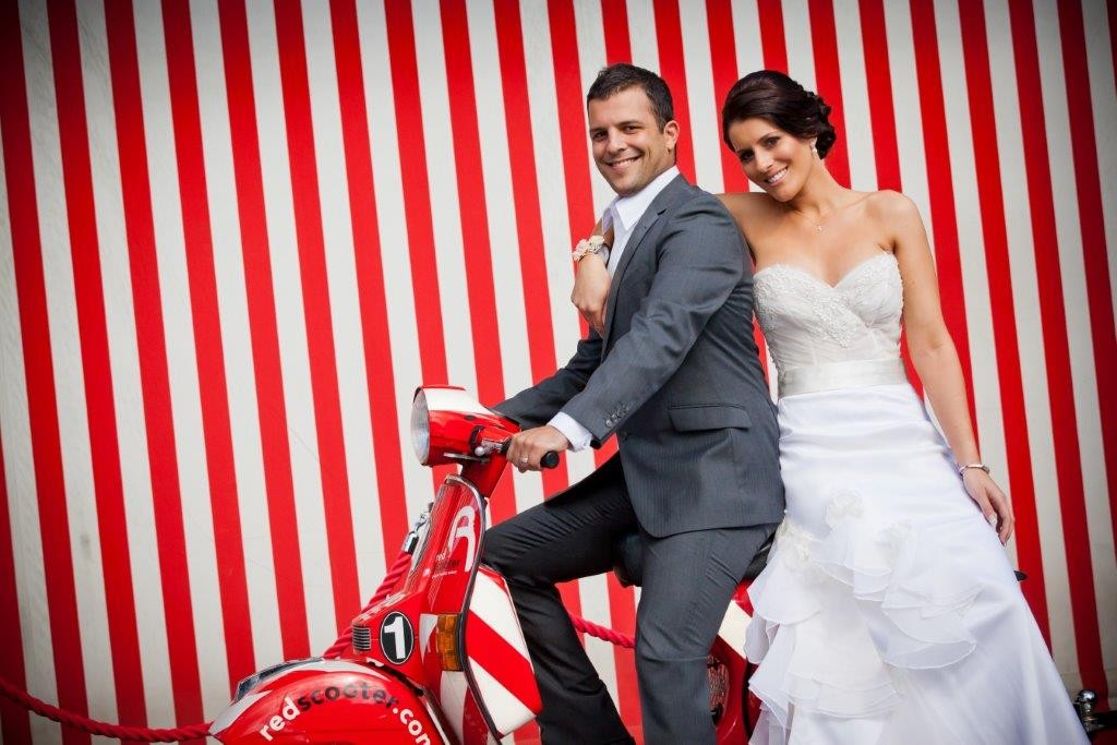 Green Weddings  Venue Melbourne - Red Scooter Unique Events Venue