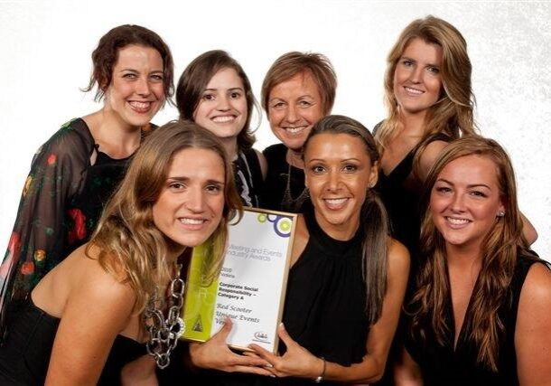 Melbourne's Award Winning Events Team