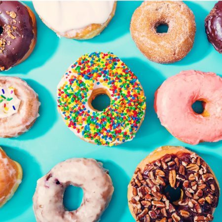 assorted-donuts-on-pastel-blue-background-picture-id501617092-1-450x450-square Home  %Post Title Melbourne Events Venue Hire