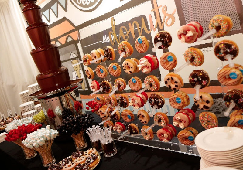 Food Cart Menu For Functions - Chocolate Fountain